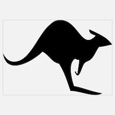 australian kangaroo black log