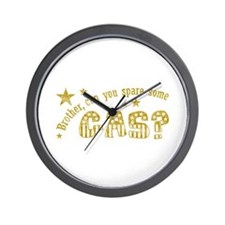 Brother, Can You Spare Some G Wall Clock