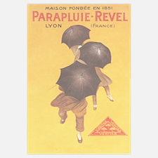 Vintage Umbrella Ad Print