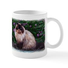 Himalayan and Purple Flowers Mug