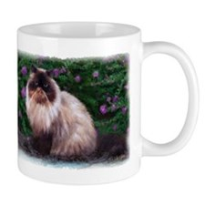 Himalayan and Purple Flowers Mug