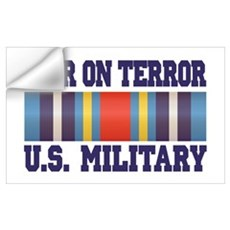 War On Terror Service Ribbon Wall Decal