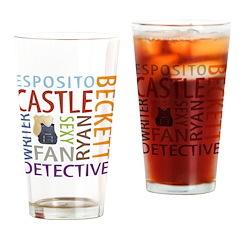 Castle Fan Drinking Glass