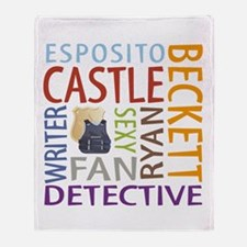 Castle Fan Throw Blanket