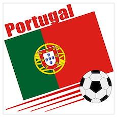Portugal Soccer Team Poster