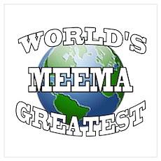 WORLD'S GREATEST MEEMA Poster