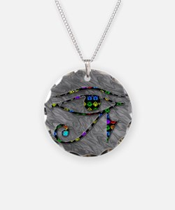 Eye of Ra (silver) Necklace
