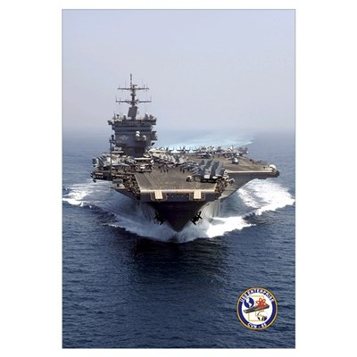 USS Enterprise CVN-65 Framed Print