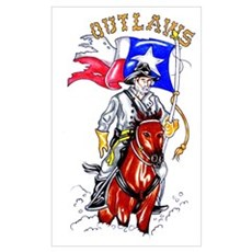 Texas Outlaws Canvas Art