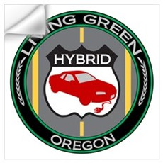 Living Green Hybrid Oregon Wall Decal