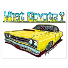 1969 Plymouth Road Runner Poster