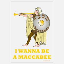 Wanna Be A Maccabee Hanukkah