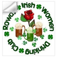 Rowdy Irish Women Wall Decal