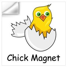 CHICK MAGNET Wall Decal