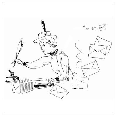 Letter Writer Poster