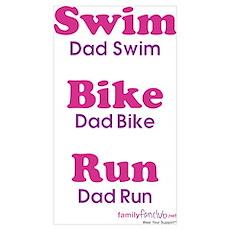 Triathlon Dad Poster