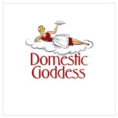 Domestic Goddess Poster