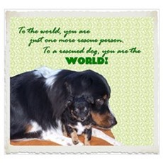 You are the world to a rescue Poster