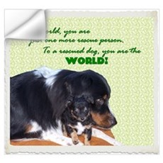 You are the world to a rescue Wall Decal