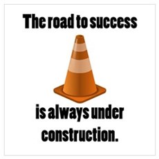 Road to Success Canvas Art