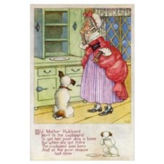 Old Mother Hubbard, #1 Framed Print
