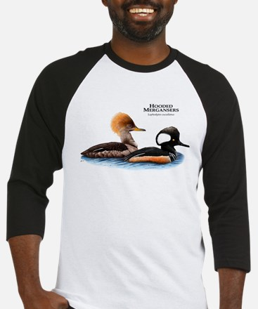 Hooded Mergansers Baseball Jersey