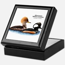 Hooded Mergansers Keepsake Box