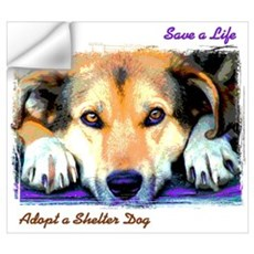 Save a Life - Adopt a Shelter Wall Decal