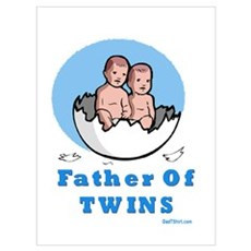Father of Twins Canvas Art