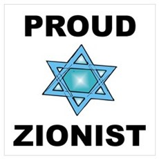 Proud Zionist Poster