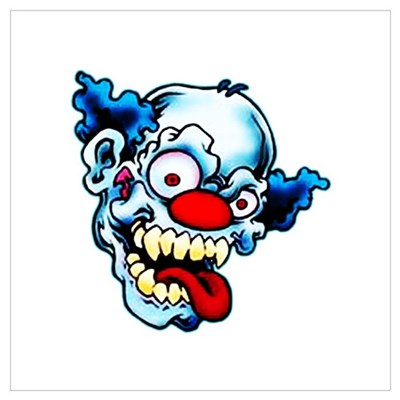 Crazy Clown Poster