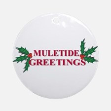 Mule Tide Ornament (Round)