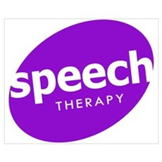 Speech Therapy Canvas Art