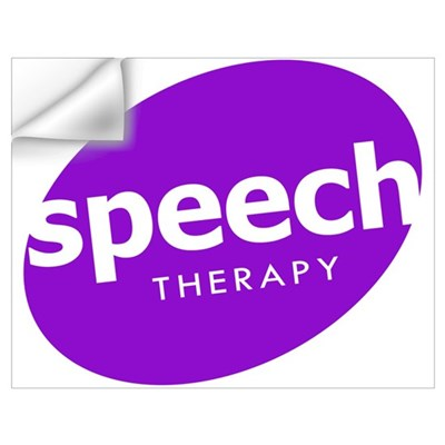 Speech Therapy Wall Decal