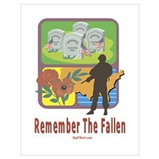 Remember The Fallen Memorial Poster