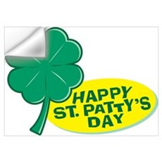 Happy St. Patty's Day Wall Decal