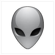 UFO Alien Poster