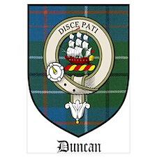 Duncan Clan Crest Tartan