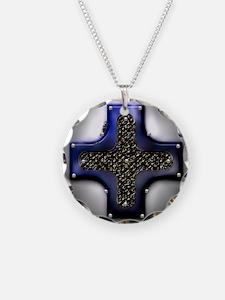 Cross Dark Knight Necklace