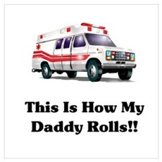 Ambulance This Is How My Dadd Poster