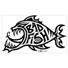 Bad Fish Canvas Art