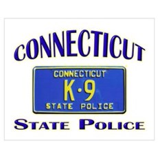 Connecticut State Police Canvas Art