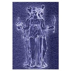 Hekate Triforma Canvas Art