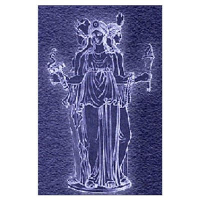 Hekate Triforma Poster