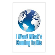 I Want What's Coming To Me Scarface Postcards (Pac