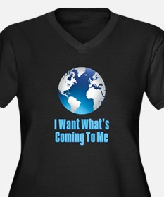 I Want What's Coming To Me Scarface Women's Plus S