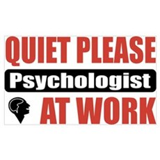 Psychologist Work Poster