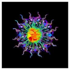Chakra Sun Poster