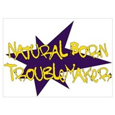 Natural Born Troublemaker Poster