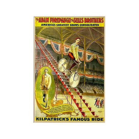 Kilpatrick's Famous Ride Rectangle Magnet